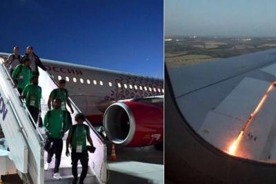 Se registró incendio en el avión en que viajaba la selección de Arabia Saudí