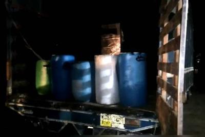 Incautaron más de 30 toneladas de sustancias para producir cocaína