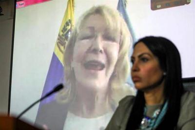 Exfiscal venezolana presentó a Parlamento ley de amnistía para políticos presos