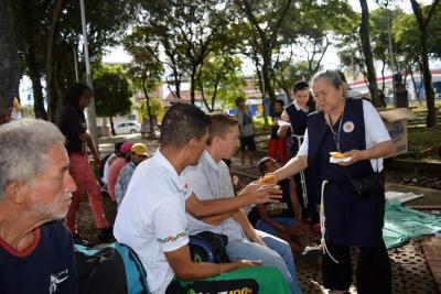 Comunidad apostólica busca recursos para ayuda a los más necesitados de Bucaramanga
