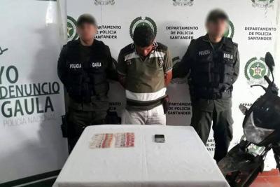 Envían a la cárcel a presunto extorsionista en Santander
