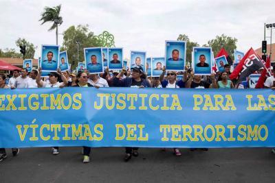 Miles de nicaragüenses marcharon para pedir la dimisión de Ortega