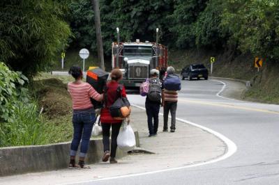 Video registra la llegada de más de 40 migrantes de Venezuela a Bucaramanga
