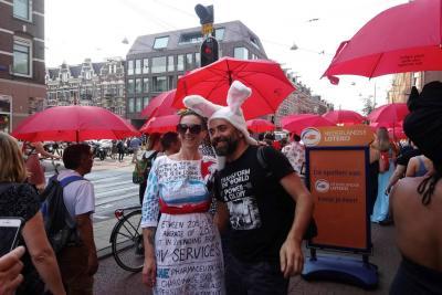 Así fue la marcha global de prostitutas para pedir derechos y respeto