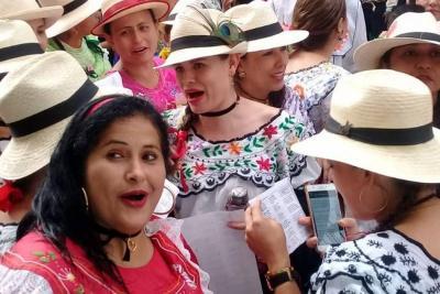 Se 'prendió' la Parranda Veleña en Santander