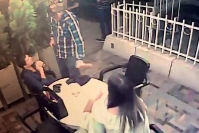 En video quedó registrado atraco a mano armada en Bucaramanga