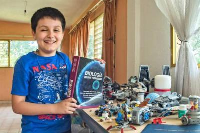 Conozca cómo un niño de 12 años entró a la universidad de México