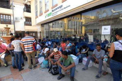 Realizan masivo operativo para detectar venezolanos indocumentados en Bucaramanga