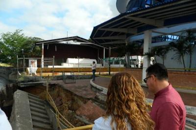 Colapsó de estructura del muelle de Barrancabermeja afecta a 300 pasajeros al día