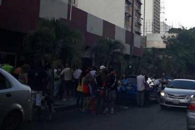 Así se sintió el fuerte temblor en Venezuela