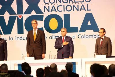 En directo: Presidente Iván Duque instala Congreso de Fenavi en Bucaramanga