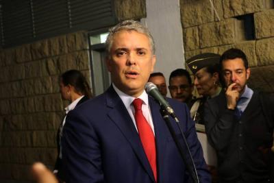 Iván Duque afirmó que diálogo con el Eln avanzará si se liberan todos los secuestrados
