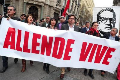 Así recordó Chile a Allende en los 45 años del golpe de Pinochet