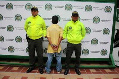 Los sujetos fueron enviados a la cárcel por un juez de Control de Garantías.