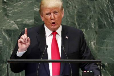 """Trump pidió ayuda en la ONU para """"restaurar la democracia"""" en Venezuela"""