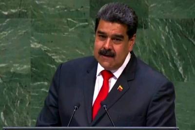 """Maduro aseguró en la ONU que está dispuesto a reunirse y """"dialogar"""" con Trump"""