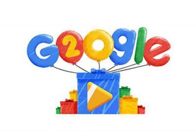 Así celebra Google su cumpleaños número 20