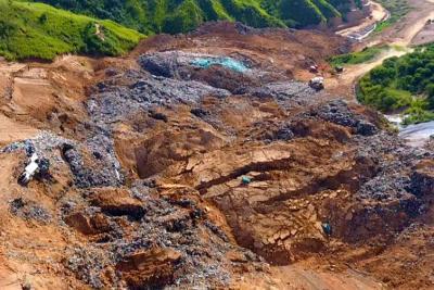 Desde el aire, Vanguardia.com captó la magnitud de la emergencia ambiental en El Carrasco