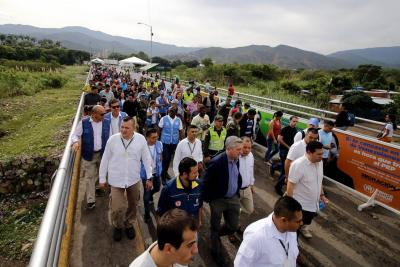 Jefe de Acnur constató la complejidad de la crisis migratoria en frontera con Venezuela