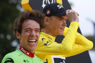 """Chris Froome llega a Colombia para participar en el """"Giro de Rigo"""""""