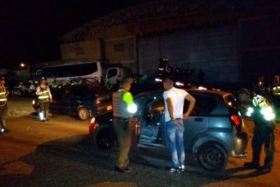 30 motos inmovilizadas y 132 'comparendos': balance de la noche de Halloween en Bucaramanga