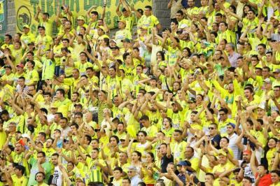 No están solos: Este fue el emotivo mensaje de apoyo de la hinchada al Atlético Bucaramanga