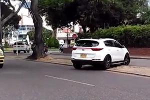 Continúan las imprudencias de conductores en las vías de Bucaramanga