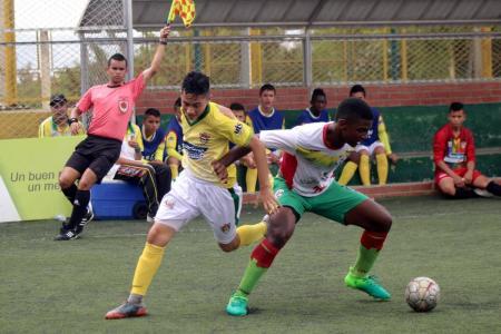 La selección Santander perdió en la última fecha del zonal semifinal del Torneo Nacional de Fútbol Infantil 1-0 ante Bolívar, pero la mente está puesta en buscar el título.