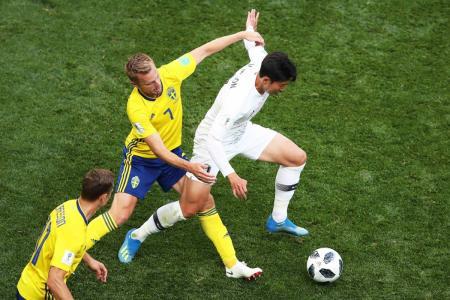 Con la ayuda del VAR, Suecia derrotó 1-0 a Corea del Sur