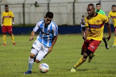 Real Santander y Bogotá, los elencos con los peores números del Torneo Águila, igualaron anoche 1-1 en Floridablanca, en encuentro de la fecha 27.