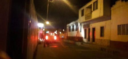 Hombre perdió la vida en un incendio en Málaga