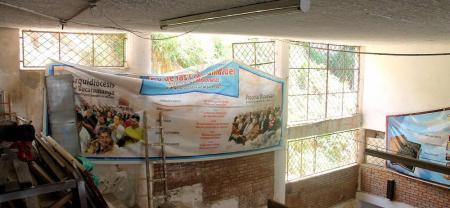 Los delincuentes rompieron las rejas, para ingresar a la iglesia y, posteriormente, saquear lo que encontraron en su interior. Las pérdidas ascenderían a 2 millones 500 mil pesos.