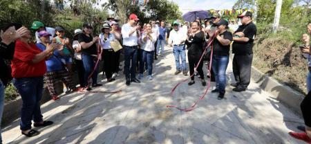 Se espera la aprobación por parte del Ministerio de Transporte de 5.200 millones de pesos para la pavimentación de los dos kilómetros de la vía San Benito - Güepsa.