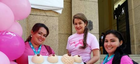 En Santander continúa la lucha contra el cáncer de mama