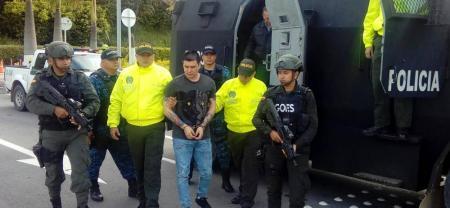 Alias 'Pichi' fue trasladado de Bucaramanga a cárcel de máxima seguridad en Bogotá
