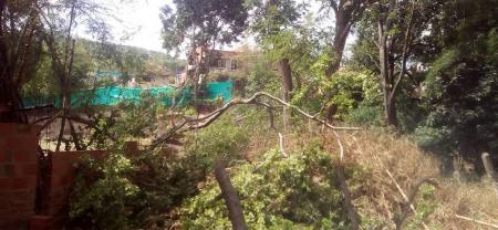 Los habitantes de la zona indicaron que esperan la presencia de las autoridades ambientales para que inspeccionen el lugar.