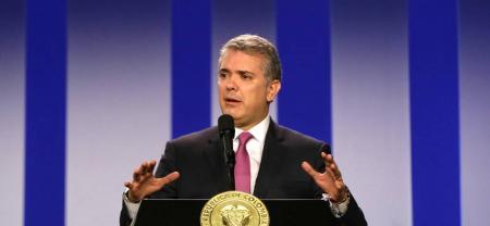 El presidente Duque rechazó la intención de miembros del Eln de ingresar a la JEP.